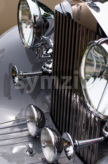 Rolls Royce Sign Stock Photo