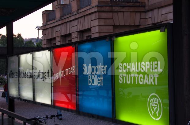 Stuttgart culture and arts Stock Photo