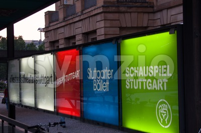 Stuttgart culture and arts Stock Photo