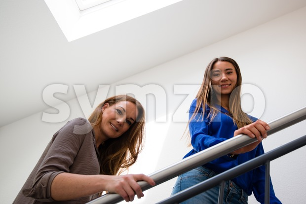 office staircase Stock Photo