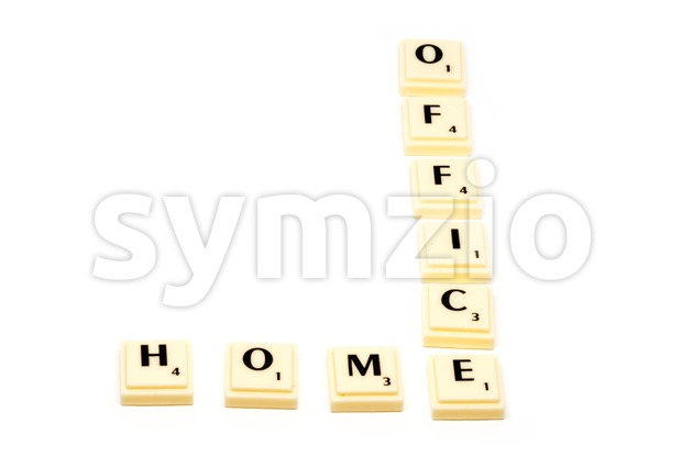 HOMEOFFICE Stock Photo