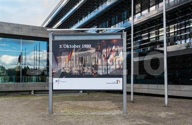 25th anniversary of German Reunion Stock Photo