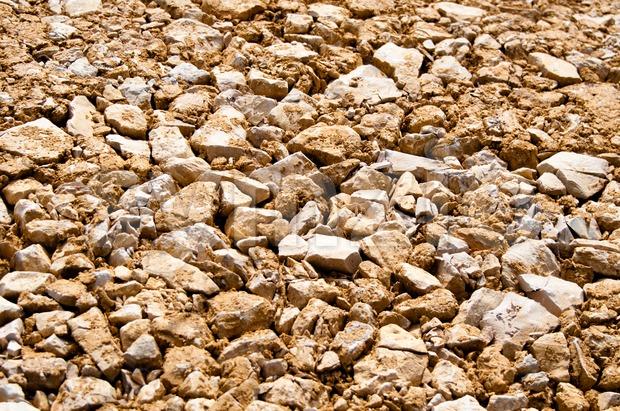 Gravel Background Stock Photo