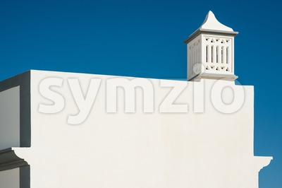 Traditional Portuguese chimney Stock Photo