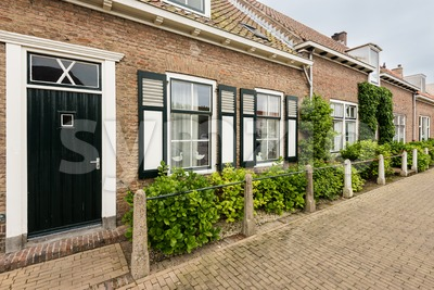 Traditional Dutch houses Stock Photo
