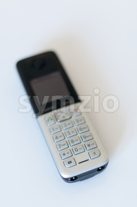 Modern Cordless Phone Stock Photo