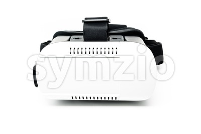 vr - virtual reality headset Stock Photo