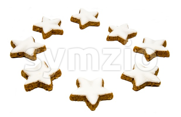Traditional Christmas cookies Stock Photo