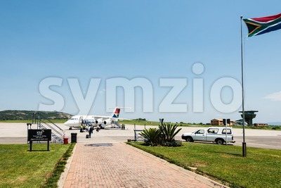 Nelspruit Mpumalanga airport in South Africa Stock Photo