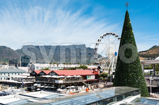 Victoria & Alfred Waterfront in Cape Town South Africa Stock Photo