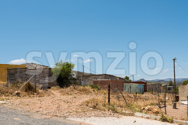 Township in South Africa Stock Photo