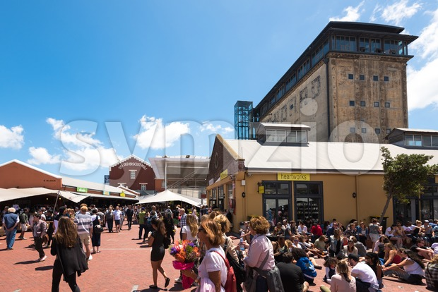 Market in Cape Town, South Africa Stock Photo