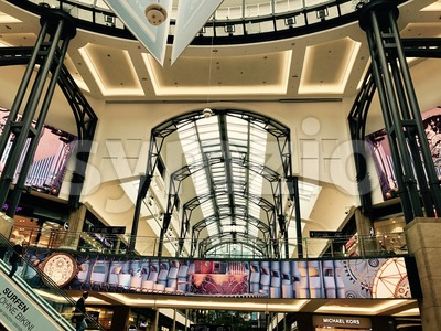 Interior of the Centro Shopping Mall in Oberhausen, Germany Stock Photo