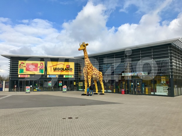 Oberhausen, Germany - March 17, 2017: Entrance of the Legoland Discovery Centre within the Centro Shopping Mall in Oberhausen, Germany ...