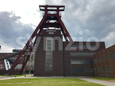 Zeche Zollverein - UNESCO heritage Stock Photo