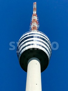 Stuttgart Television Tower Stock Photo