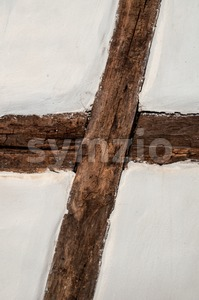 Wooden Framework Stock Photo