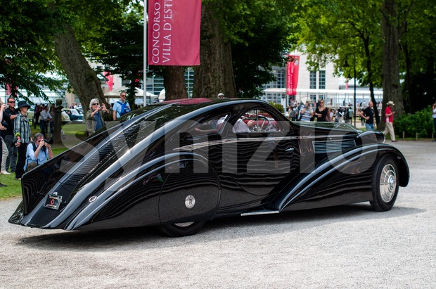 Rolls Royce PII Jonckheere Aerodynamic Coupe (1935) Stock Photo