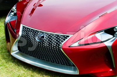 Lexus Concept Car LF-Lc Stock Photo
