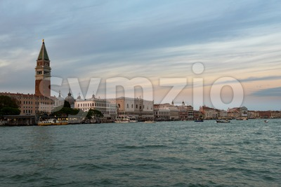 Panorama of Venice, Italy Stock Photo