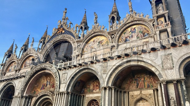 Cathedral of San Marco, Venice, Italy. Stock Photo