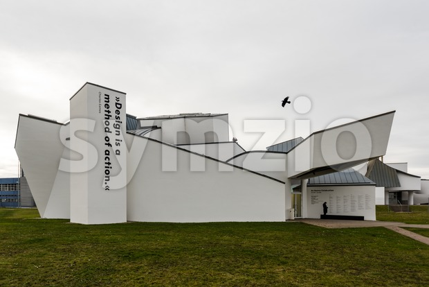 Vitra Design Museum in Weil am Rhein Stock Photo