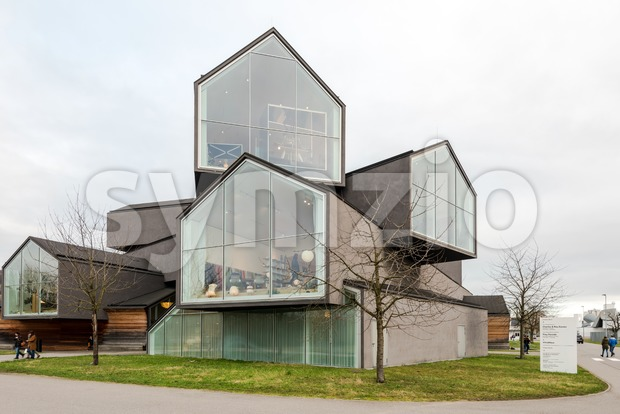 Weil am Rhein, Germany - January 28, 2018: Vitra House designed by Herzog and de Meuron . The Vitra Design ...