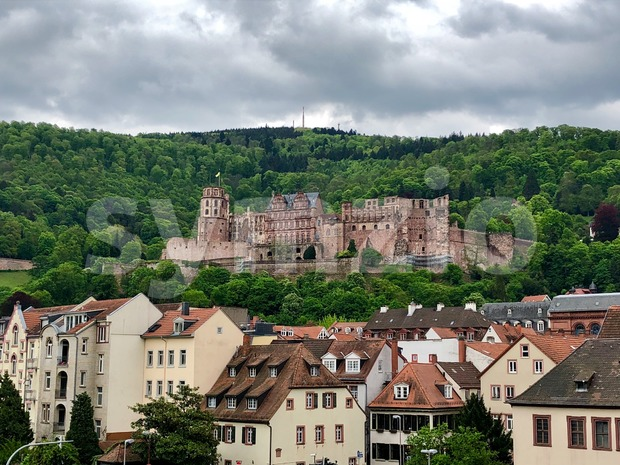 Renaissance Heidelberg castle in Germany Stock Photo