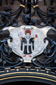 Munich Coat Of Arms, Germany. Stock Photo