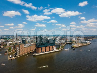 Hamburg - storehouse district Speicherstadt Stock Photo