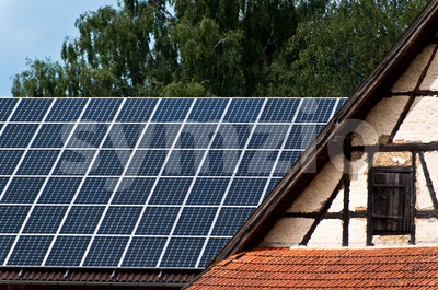 Solar innovation Stock Photo