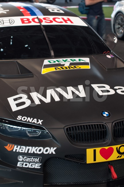 BMW M3 DTM 2012 car Stock Photo