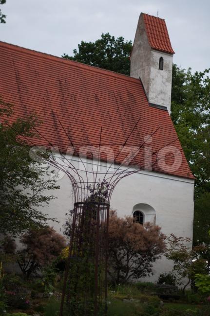 Idyllic Chapel Stock Photo