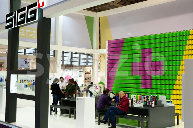 Sigg at Ambiente Exhibition in Franfkurt Stock Photo