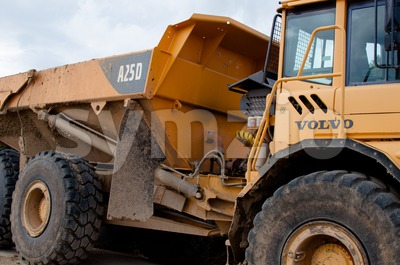 Volvo A25D heavy machinery dump truck Stock Photo