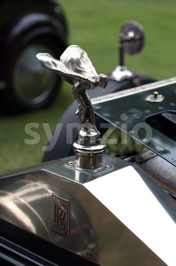 Rolls Royce Sign Stock Photo