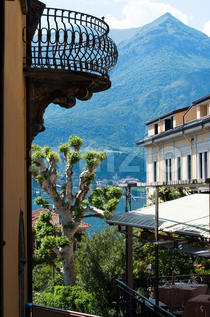 Bellagio , Lake Como Stock Photo