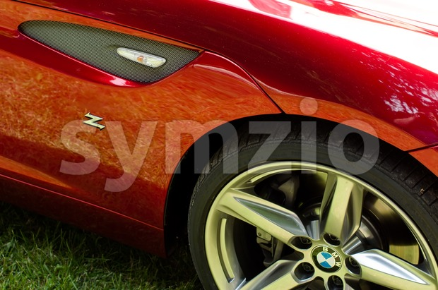 BMW Zagato Coupé - World premiere Stock Photo