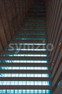 multi-storey hotel Stock Photo