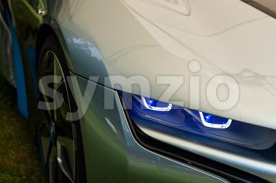 BMW i8 Concept Car Stock Photo