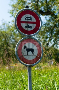 No entry Stock Photo