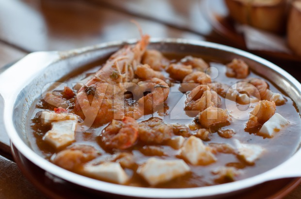 Greek Food Stock Photo