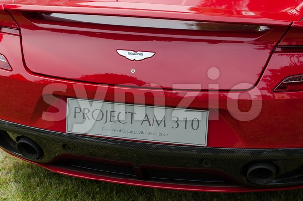 CERNOBBIO, LAKE COMO, ITALY – May 27: World premiere of the Aston Martin Project AM 310 during the Concorso d'Eleganza ...