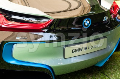 BMW i8 Concept Car Stock Photo