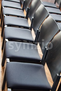 Rows Of Chairs Stock Photo