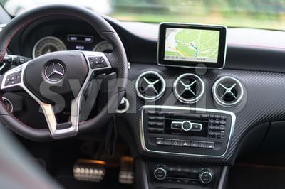 Mercedes Benz A-Class Stock Photo