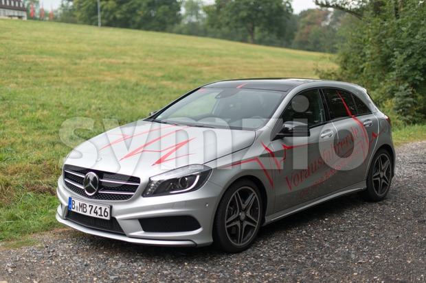 Mercedes Benz A-Class Stock Photo