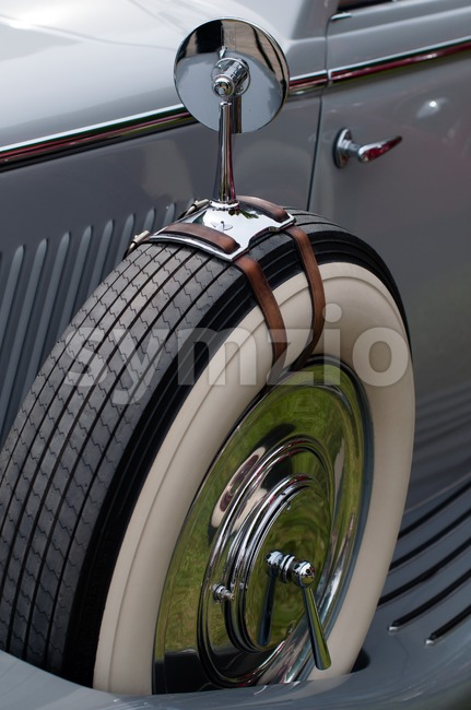 Oldtimer detail Stock Photo