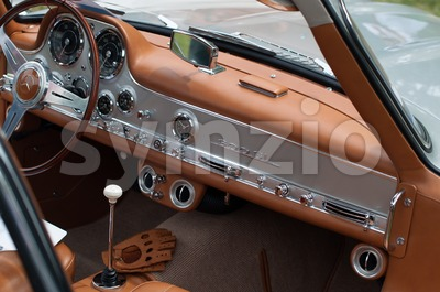 Mercedes-Benz 300 SL Stock Photo