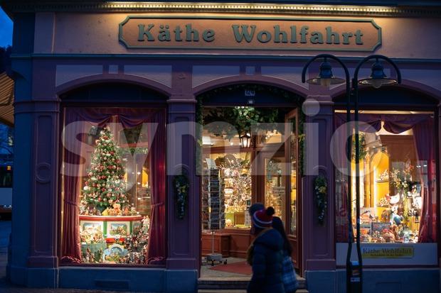 Kaethe Wohlfahrt Christmas Store Stock Photo